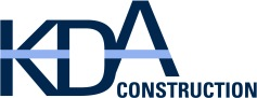 KDA Construction logo design