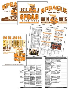 Sprague High School Handbook and Planner