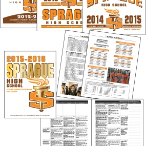 Sprague High School Handbook and Planner