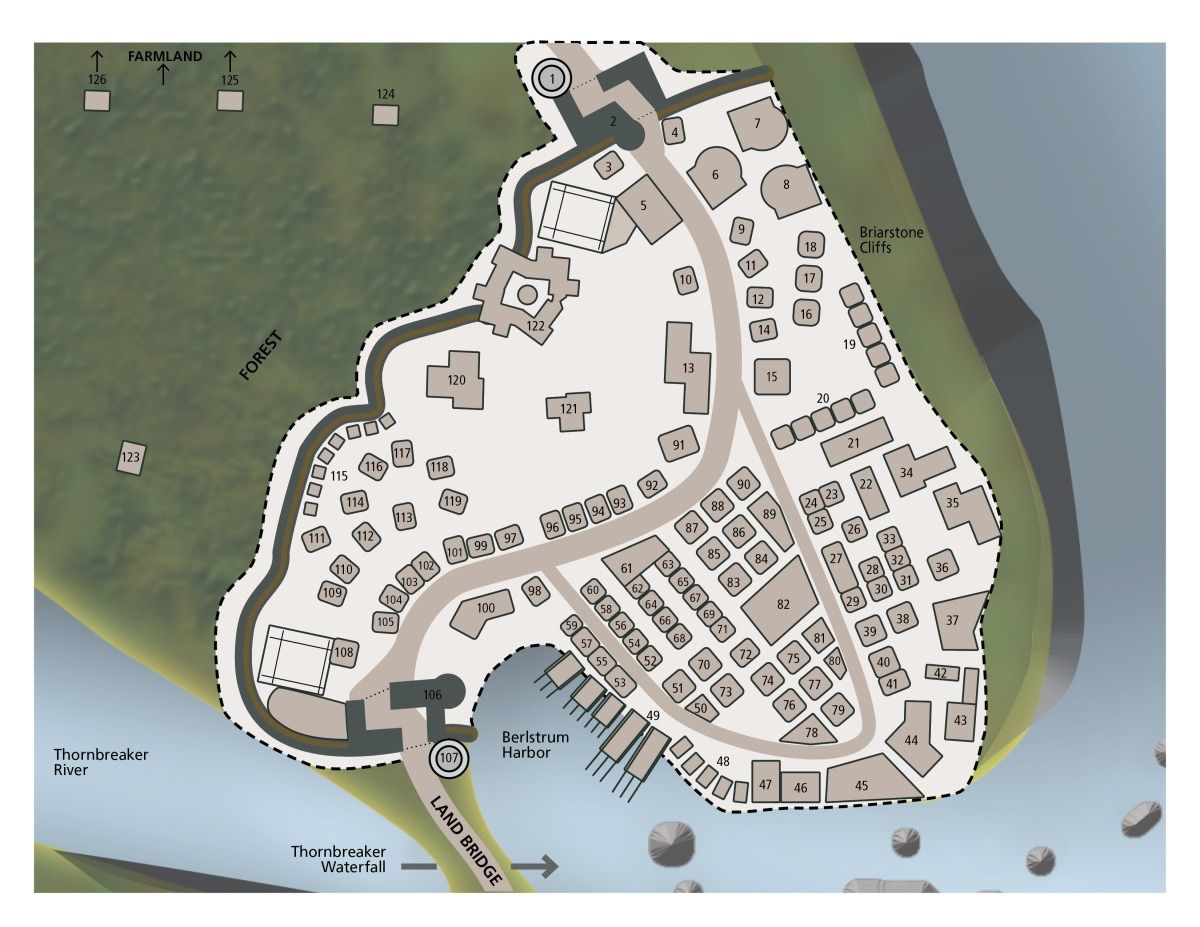 Berlstrum Map