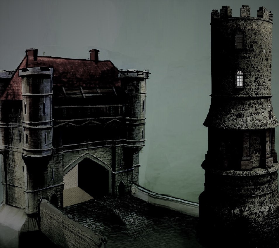 Gatehouse and guard tower
