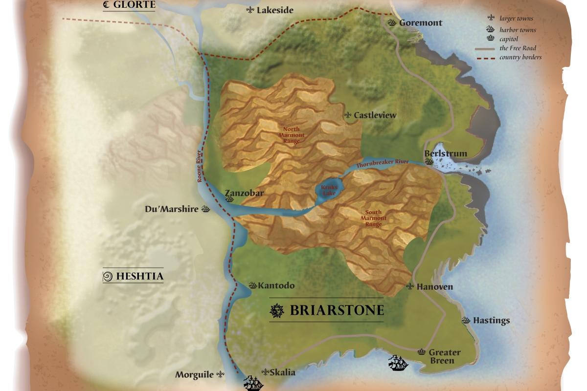 Map of Briarstone