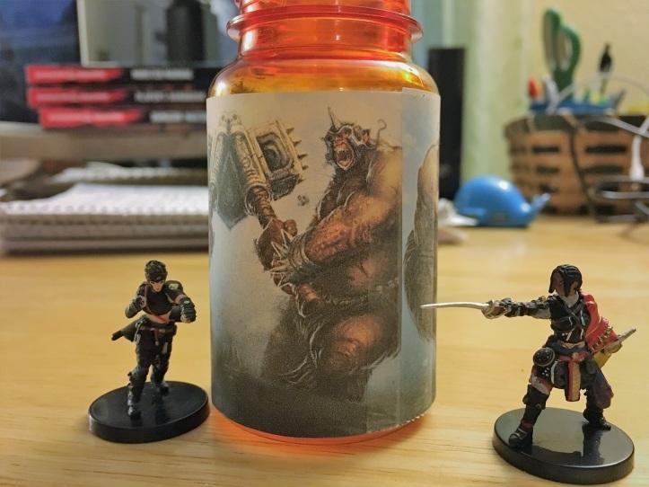 Ogre in a Bottle
