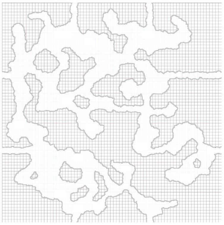 Players' Map of Berlstrum's Belly