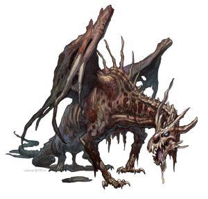 Zombie Wyvern