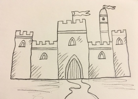 Basic Castle Sketch