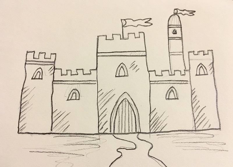 Basic Castle Sketch