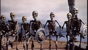 Skeletons from Jason and the Argonauts movie