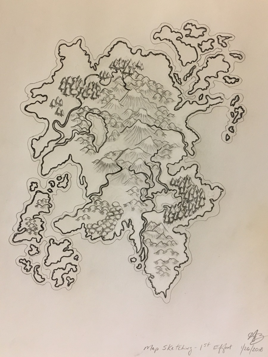 Final version of 1st Map with signature & date 1/26/2018