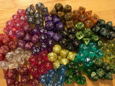 Dice from the Wiz Bag