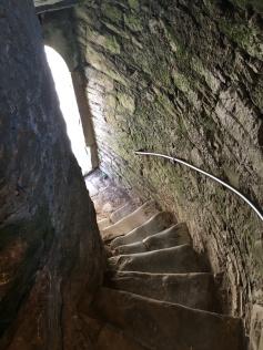stairwell in Blarney Castle