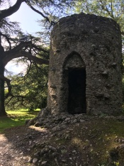 Cylinder Tower on Blarney Castle Grounds