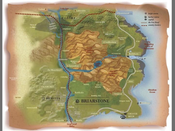 digital map of Briarstoone