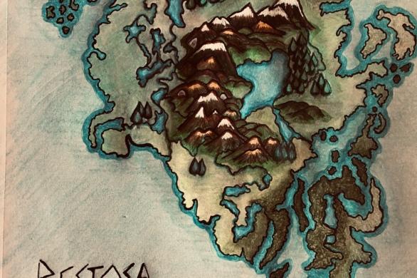Bestosa continent color sketch
