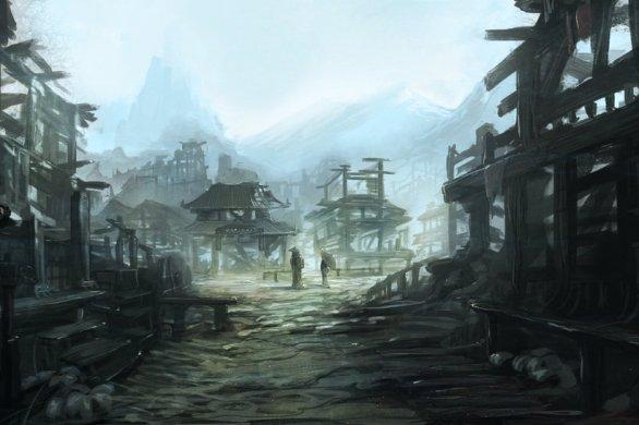 Ghost Town by Iiandmrak